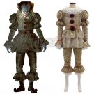 2017 Stephen King's Movie IT  Pennywise Halloween Cosplay Costume The Clown Halloween Costume