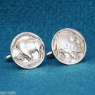 Vintage Buffalo Nickel Cufflinks