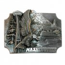 Washington Seattle Vintage Bergamot Pewter Belt Buckle