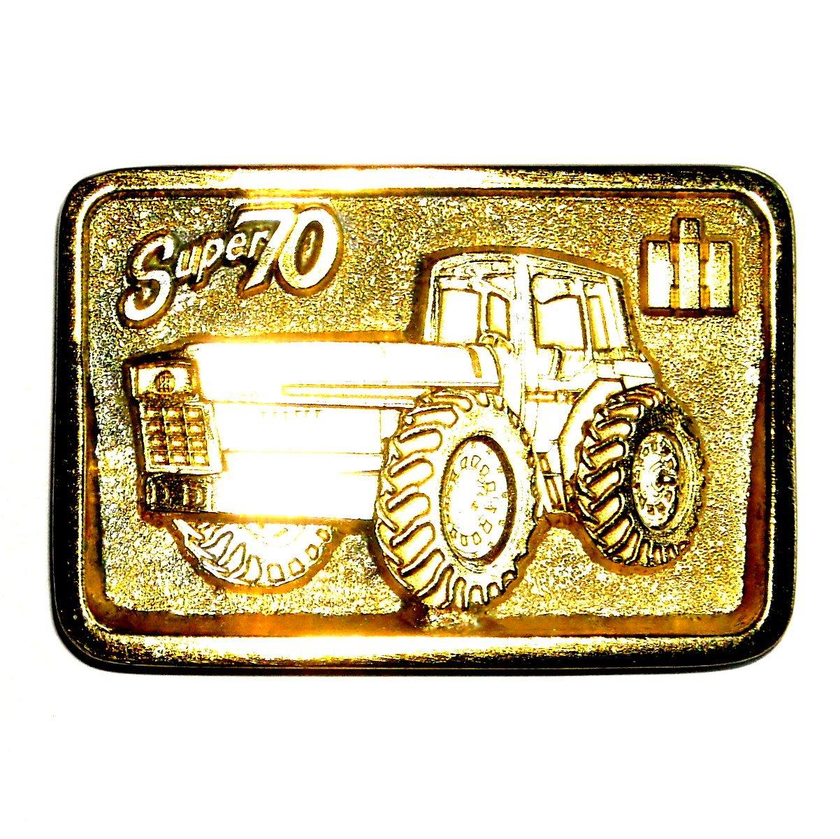 IH International Harvester Super 70 Cleveland Edition Gold Color Belt Buckle