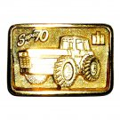 IH International Harvester Super 70 Cleveland Edition Gold Color Belt Buckle