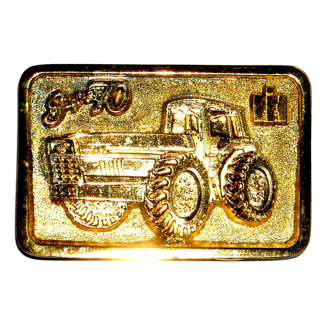 IH Super 70 Minneapolis Edition Gold Color Belt Buckle