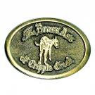 Brass Ass Of Cripple Creek Vintage Mule Hand Crafted Belt Buckle