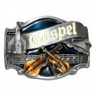 Gospel Music Vintage Siskiyou Oregon Pewter Belt Buckle