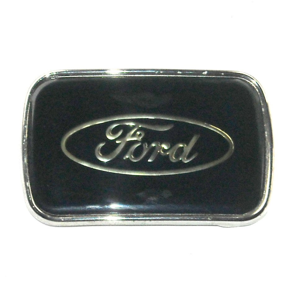 Ford Motor Company Logo American Icon Vintage R J Roberts Belt Buckle