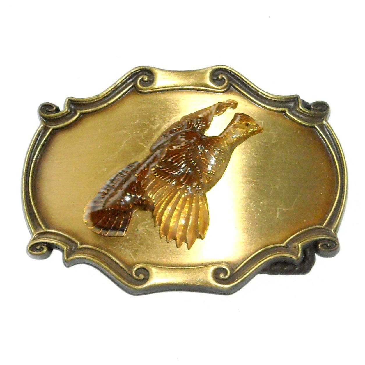 Washington Quail Trophy 3D Vintage Raintree Belt Buckle