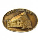 Grand Ole Opry Vintage Bergamot Brass Belt Buckle
