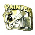Painter 3D Brass Color 1992 Great American Belt Buckle
