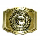 Phantom Of The Opera Brass Color Great American Belt Buckle