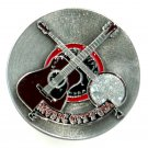 Country Western Music City USA Color Pewter Bergamot NOS Belt Buckle