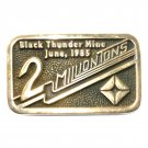 Black Thunder Mine 1985 Anacortes Brass Limited Edition 64 Belt Buckle