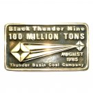 Thunder Base Mine Anacortes Brass Limited Edition 639 Belt Buckle