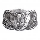 Jack Daniels No 7 Whiskey Original Indiana Metal Craft Pewter Belt Buckle