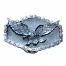 Biker Eagle Riveted Roller Chain Great American Belt Buckle