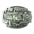 FireFighter Arroyo Grande Pewter NOS Belt Buckle