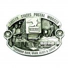 United States Postal Worker CJ Pewter NOS Belt Buckle