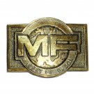 Massey Ferguson Vintage Brass Color Belt Buckle
