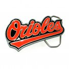 Baltimore Orioles MLB Major League Baseball GAP Pewter Belt Buckle