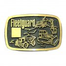 Fleetguard Dyna Brass Vintage Belt Buckle