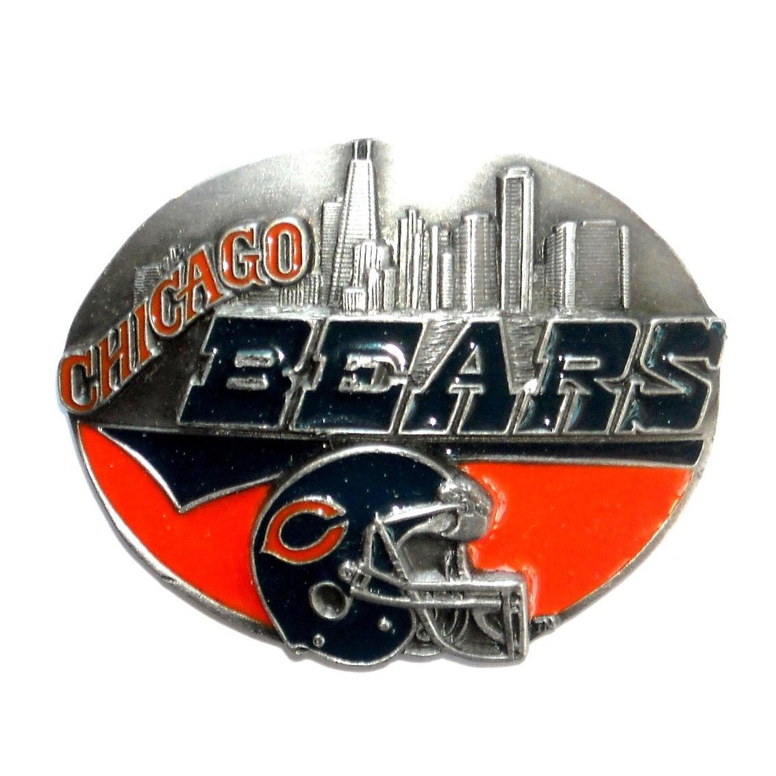 Chicago Bears NFL Vintage Siskiyou Pewter Belt Buckle