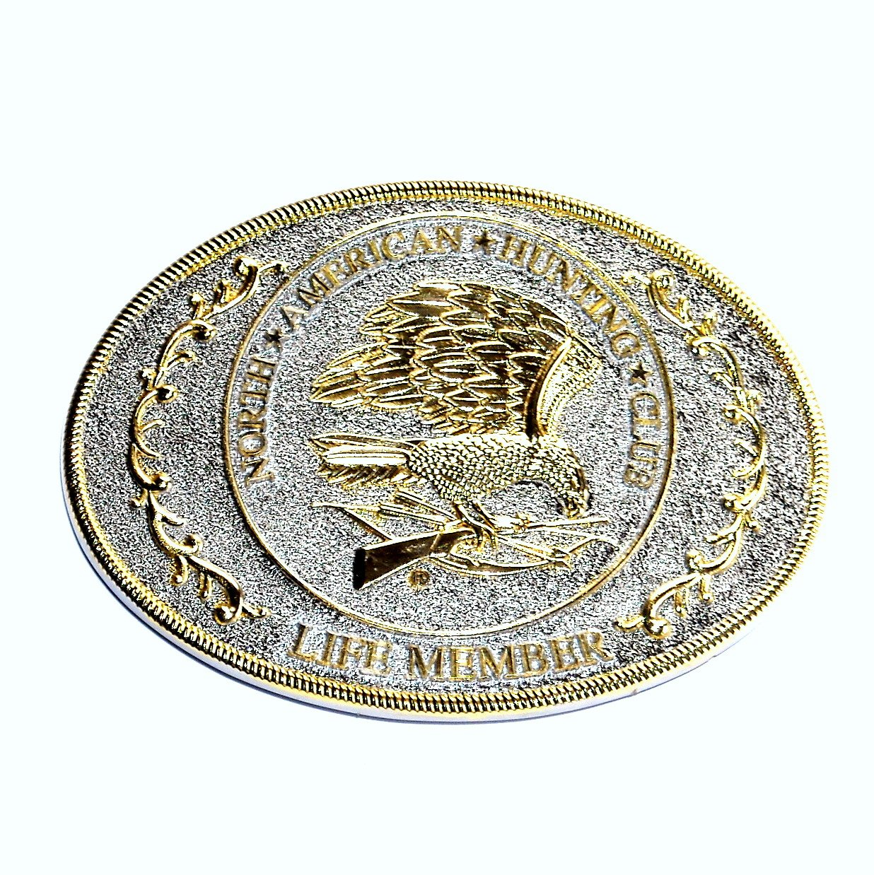North American Hunting Club NAHC Eagle Belt Buckle