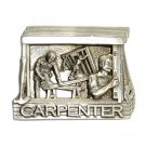 Carpenter Vintage C J Pewter NOS Belt Buckle