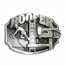 Roofer 3D Vintage Siskiyou Pewter NOS Belt Buckle