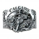 Calgary Alberta Canada 3D Siskiyou Pewter Belt Buckle