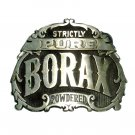 Strictly Pure Borax Powdered Award Design Brass Belt Buckle