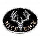 Nice Rack Montana Silversmiths Western Attitude Belt Buckle