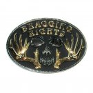 Bragging Rights Montana Silversmiths Belt Buckle