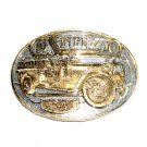 1920 Stutz Fire Engine Firefighter Belt Buckles