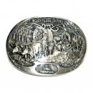 Relentless Quest Tim Thompson Award Design Solid Brass Belt Buckle
