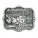 Hesston National Finals Rodeo 2007 Montana Silversmiths Belt Buckle
