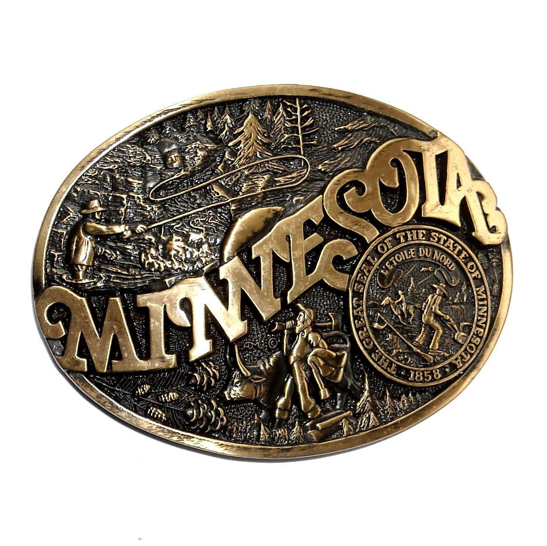 Vintage Brass Belt 34