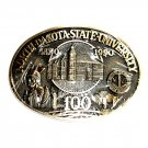 North Dakota State University Award Design Solid Brass Belt Buckle