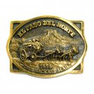Jackass Mail El Paso Del Norte Heritage Mint Solid Brass Vintage 1977 Belt Buckle