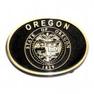 Oregon State Seal Belt Buckle