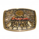 Snap On Leading The Way BTS Solid Brass Belt Buckle