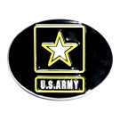US Army Star Siskiyou Oregon Pewter Belt Buckle