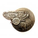 Atlanta Hawks NBA Basketball Vintage Great American US Pewter Belt Buckle