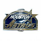 Houston Astros MLB Baseball Vintage Great American US Pewter Belt Buckle