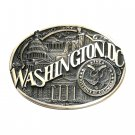 Washington DC District Of Columbia Seal ADM Brass Belt Buckle