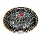 2017 Pendleton Oregon Whisky Rodeo Montana Silversmiths Belt Buckle