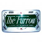 The Furrow 1995 John Deere Pewter Belt Buckle