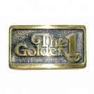 The Golden 1 BTS Brass Vintage Belt Buckle