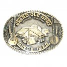 Grand Ole Opry Award Design Solid Brass Belt Buckle
