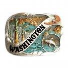 Vintage Washington Color Bergamot US Belt Buckle