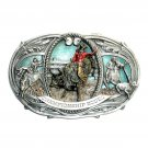 Championship Rodeo Vintage Bergamot Color US Belt Buckle
