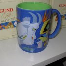 COFFEE MUG CUP BIG HEAVY FUNNY DAILY GRIND GUND GIFTS MONDAYS MAKE ME MAAAAAD! RETIRED